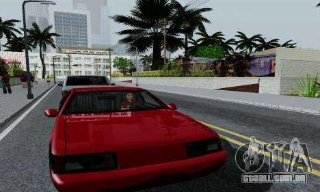 ENBSeries for low PC para GTA San Andreas quinto tela