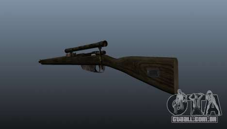 Carcano rifle de sniper para GTA 4 segundo screenshot