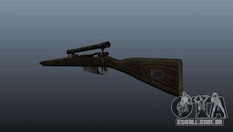 Carcano rifle de sniper para GTA 4 segundo screenshot