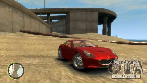 Ferrari California [EPM] para GTA 4 traseira esquerda vista