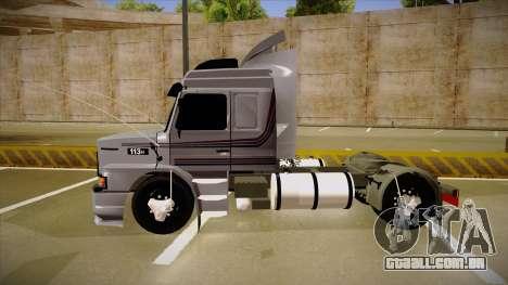 Scania 113H Top Line Neee Edit para GTA San Andreas traseira esquerda vista
