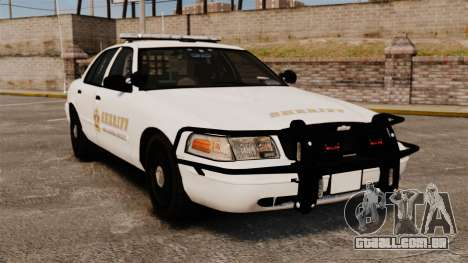 GTA V sheriff car [ELS] para GTA 4