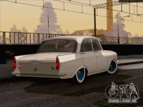 Moskvich 408 para GTA San Andreas esquerda vista