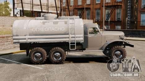 Caminhão ZIL-157 para GTA 4 esquerda vista