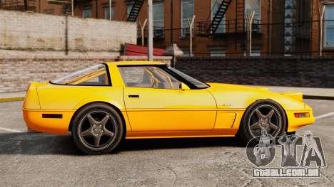 Chevrolet Corvette C4 1996 v1 para GTA 4 esquerda vista
