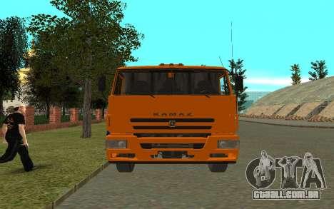 KAMAZ 6520 para GTA San Andreas vista direita