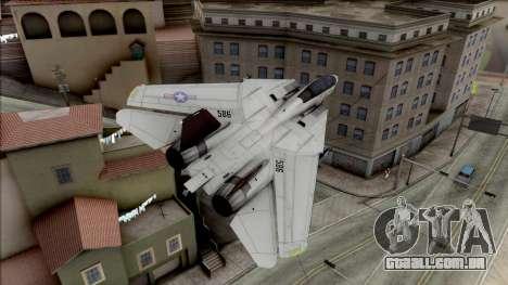 USA Navy Hydra para GTA San Andreas vista direita