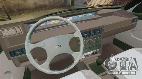 Fiat Tempra SX.A v2.0 para GTA 4 vista interior