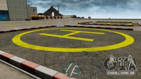 A localização central do radar para GTA 4 segundo screenshot