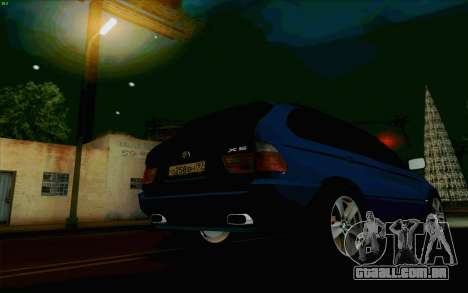 BMW X5 para vista lateral GTA San Andreas