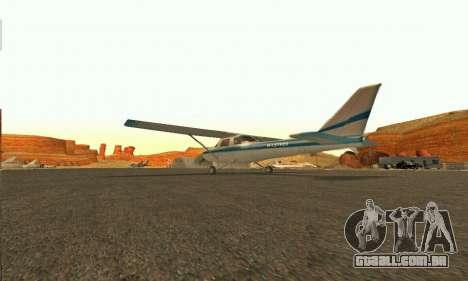 Dodo GTA V para GTA San Andreas traseira esquerda vista
