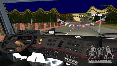 Volvo VNL 670 para GTA San Andreas vista traseira