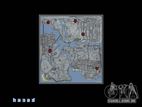Mapear no estilo de GTA 5 para GTA San Andreas segunda tela