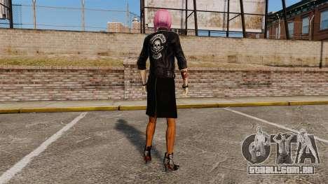 Novas roupas Nico da menina para GTA 4 por diante tela
