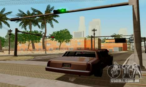ENBSeries for low PC para GTA San Andreas oitavo tela