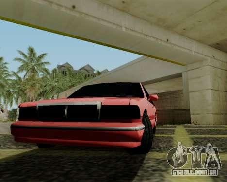 Premier tonificado para GTA San Andreas vista direita