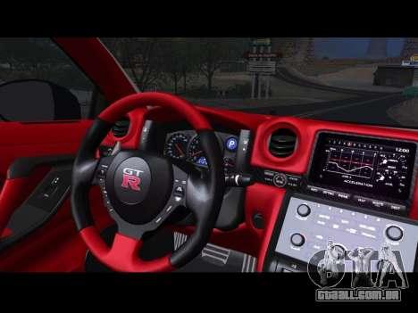 Nissan GT-R Egoist v2 para GTA San Andreas vista direita
