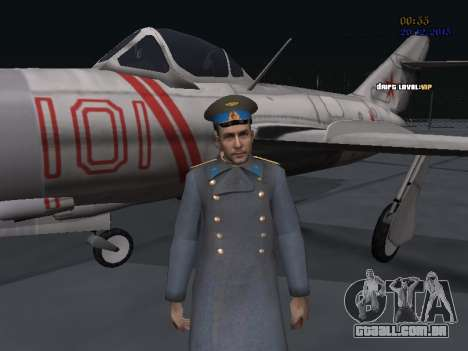 Coronel-General da Força Aérea Soviética para GTA San Andreas