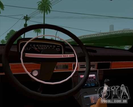 VAZ 21011 polícia para GTA San Andreas vista direita
