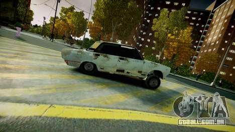 VAZ 2107 para GTA 4 vista direita