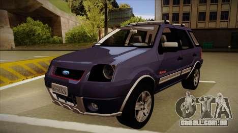 Ford Ecosport FreeStyle 2007 para GTA San Andreas