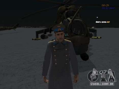 Coronel-General da Força Aérea Soviética para GTA San Andreas segunda tela