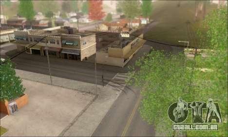 Ruas vazias (Screenshots) para GTA San Andreas segunda tela
