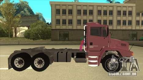 Mrecedes-Benz LS 2638 Canaviero para GTA San Andreas esquerda vista