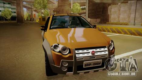 FIAT Palio Weekend Adventure Locker 2010 para GTA San Andreas esquerda vista