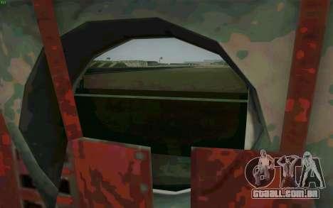 MH-47 para GTA San Andreas vista direita