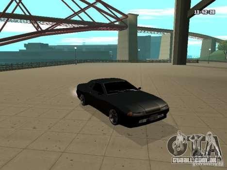 Elegy para GTA San Andreas vista traseira