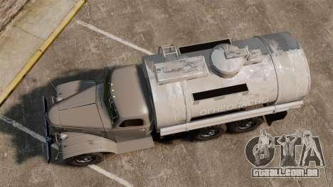 Caminhão ZIL-157 para GTA 4 vista direita