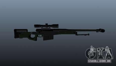 Rifle de sniper AW50F para GTA 4 terceira tela