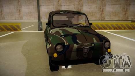 Zastava 750 Camo para GTA San Andreas esquerda vista