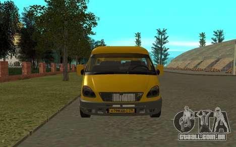 Gazela 3221 para GTA San Andreas