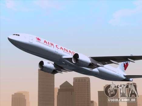 Boeing 777-200ER Air Canada para o motor de GTA San Andreas