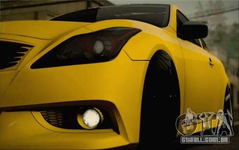 Infiniti G37 IPL para o motor de GTA San Andreas