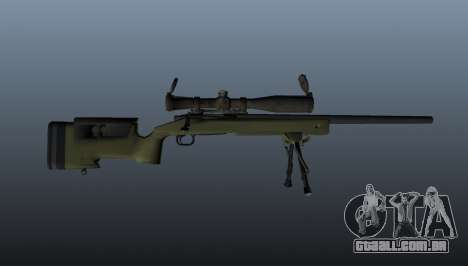 Rifle sniper M40A3 para GTA 4 terceira tela