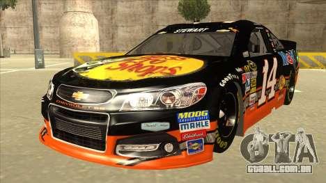 Chevrolet SS NASCAR No. 14 Mobil 1 Bass Pro Shop para GTA San Andreas