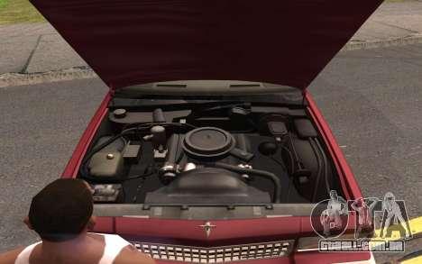 Chevrolet Caprice 1987 para as rodas de GTA San Andreas