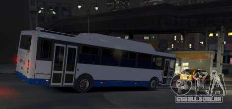 LIAZ 2013 5256.57-01 para GTA 4 traseira esquerda vista