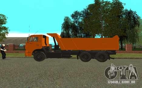 KAMAZ 6520 para GTA San Andreas esquerda vista