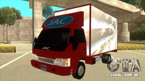 JAC 1040 para GTA San Andreas
