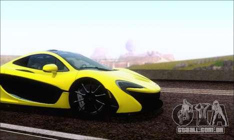 McLaren P1 EPM para GTA San Andreas esquerda vista