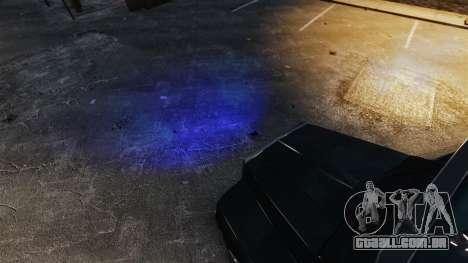 Faróis azuis para GTA 4 segundo screenshot