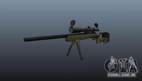 Rifle sniper M40A3 para GTA 4