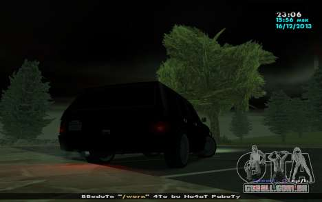 Huntley Mp-Bandit para GTA San Andreas traseira esquerda vista