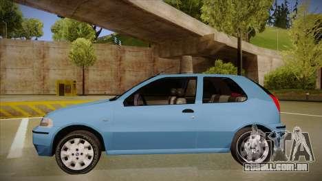 FIAT Palio EX 2003 para GTA San Andreas traseira esquerda vista