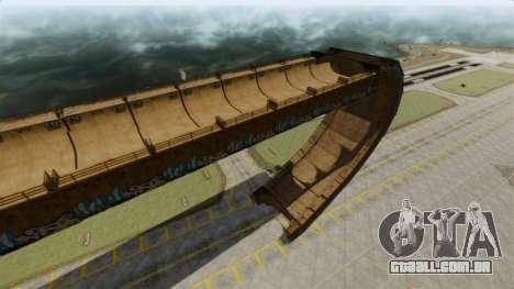 Faixa de rampa para GTA 4 terceira tela