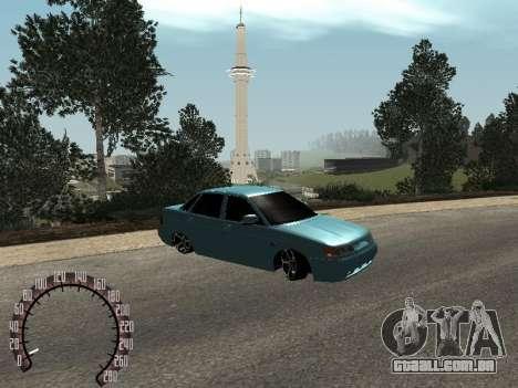 VAZ 2110 para GTA San Andreas esquerda vista